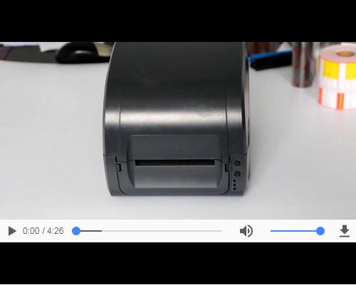 佳博9025T安装视频教程