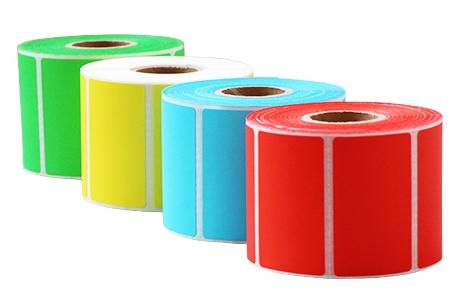 码研(MYBARCODE)4030 5080彩色热敏标签纸贴纸 不干胶万博体育app在哪里下载 多色可选